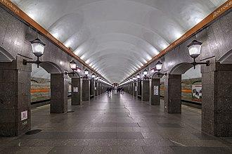 Dostoyevskaya (Saint Petersburg Metro) - Station Hall