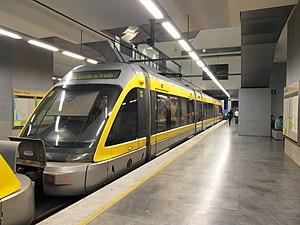 Eurotram - Image: Metro do Porto Material circulante (8253958770)