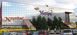 MetroCentre (shopping centre) - The New Metroland, previously Europe's largest indoor amusement park, before the area was refurbished as the Qube