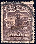 Mexico 1895 1p perf 12 Sc254 used.jpg