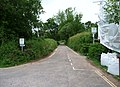 Mid Devon , Road and Cycle Path - geograph.org.uk - 1361558.jpg