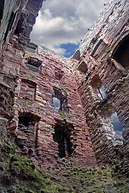 Mid Tower Tantallon Castle