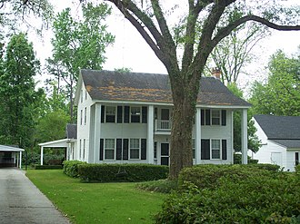 National Register of Historic Places listings in Clay County, Florida - Image: Middleburg FL HD Clark Chalker House 01