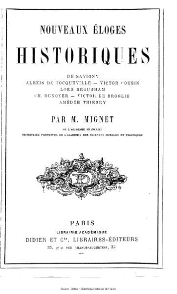 File:Mignet - Nouveaux éloges historiques.djvu