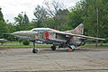 Mikoyan MiG-23UB 14 outline (7902959328).jpg
