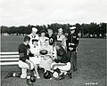 Military Personnel with Some of the Members of the Chicago Bears Football Team - NARA - 45697719.jpg