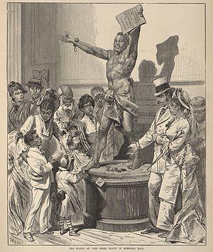 Fernando Miranda y Casellas - Image: Miranda THE FREED SLAVE 1876