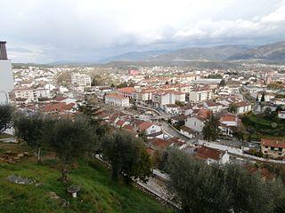 Miranda do Corvo Municipality in Centro, Portugal