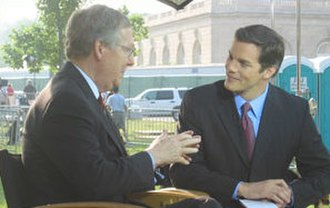 Bill Hemmer - Hemmer interviewing Mitch McConnell in 2004