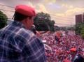 Mitin de Hugo Chávez, 1998.png