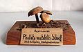 Modell von Pholiota mutabilis Schaeff. (Kuehneromyces mutabilis, Gemeines Stockschwämmchen).jpg