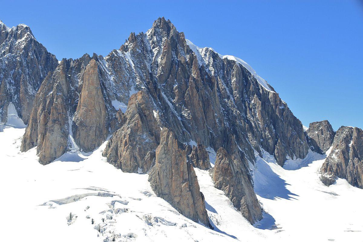 Px Mont Blanc Du Tacul East Face C July on 208