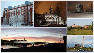 Toppila District of Oulu in Finland