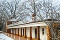 Monticello dependencies on the south side of the house - home of US President Thomas Jefferson - near Charlottesville, Virginia - panoramio.jpg