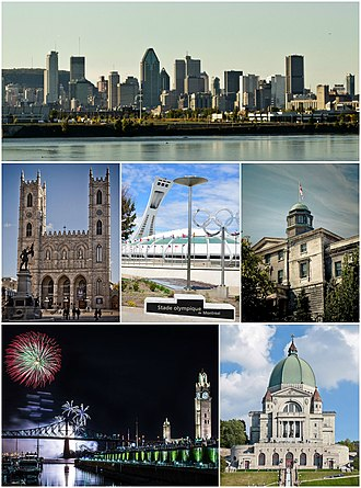 Montreal - Image: Montreal Montage July 7 2014
