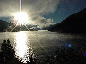 Ruedi Reservoir - Image: Morning at Ruedi Reservoir