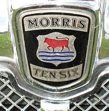 Morris Ten-Six August 1935 radiator badge.JPG