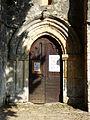 Mortemart (24) église portail.JPG