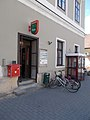 Mosonmagyaróvár 2 Post office, 2017 Mosonmagyaróvár.jpg
