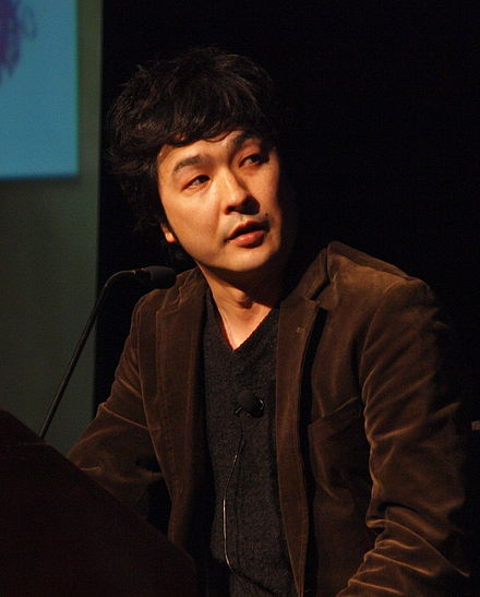 Director and scenario designer Motomu Toriyama at the 2010 Game Developers Conference Motomu Toriyama - Game Developers Conference 2010.jpg