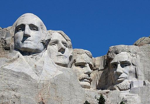 Mount Rushmore Closeup 2017