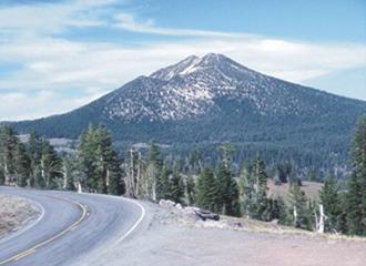 Mount Scott (Klamath County, Oregon) - Mount Scott viewed from the southwest
