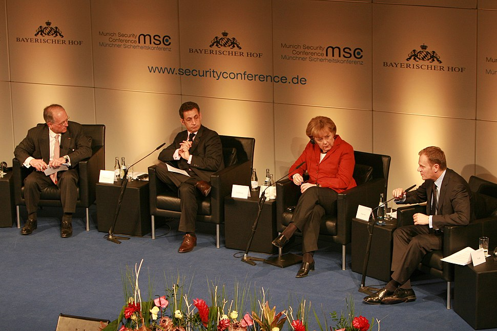 Msc 2009-Saturday, 11.00 - 13.00 Uhr-Dett 014 Ischinger Sarkozy Merkel Tusk