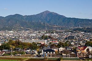 Mt.Oyama from Shibusawa Hill Range 01.jpg
