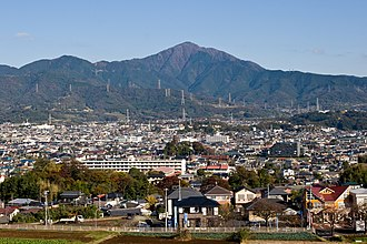 Mount Ōyama (Kanagawa) - View from the South