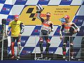 Mugello MotoGP podium 2010.jpg