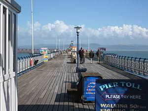 Mumbles Pier - Walkway of the Mumbles pier