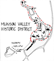 Munson Valley Historic District map.png