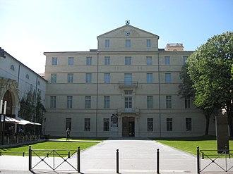 Musée Fabre - Front of Musée Fabre