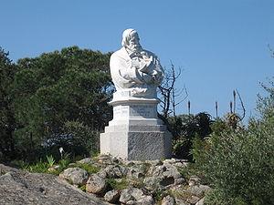 Caprera - Monument to Giuseppe Garibaldi in Caprera.
