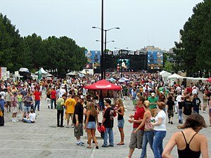 Music Midtown - Crowd at Music Midtown 2005