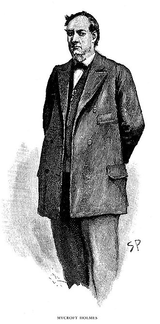 Mycroft Holmes - as depicted by Sidney Edward Paget in the Strand Magazine