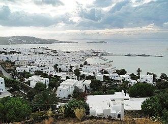 Mykonos - Mykonos town