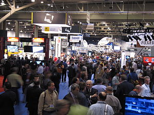 National Association of Broadcasters - NAB Convention Floor, Las Vegas, 2010