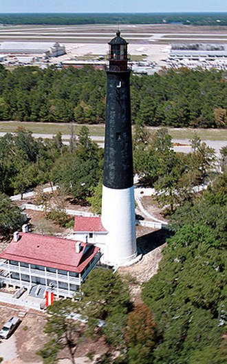 Naval Air Station Pensacola - The first lighthouse built by the U.S. on the Florida coast