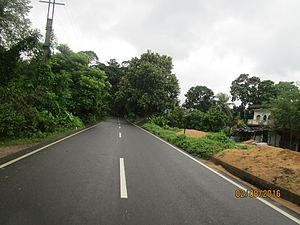 National Highway 112 (India) - NH 112 at Chhaigharia, Bangaon subdivision