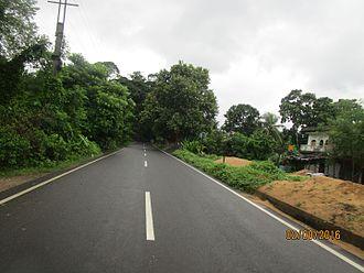 National Highway 112 (India) - NH 112 at Chhaigharia, Bangaon subdivision