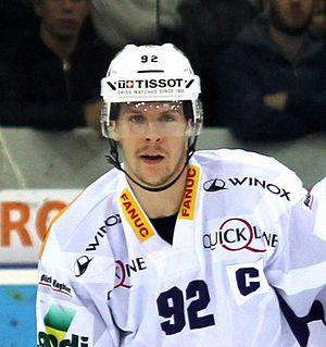 Gaëtan Haas Swiss ice hockey player