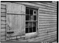 NORTH WINDOW AND SHUTTER DETAIL - George Harper Store, Maryland Route 292 and Main Street, Still Pond, Kent County, MD HABS MD,15-STIPO,1-15.tif