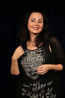 Nadja Maleh Austrian actress