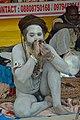 Naga Sadhu - Gangasagar Fair Transit Camp - Kolkata 2013-01-12 2790.JPG