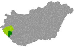 magyarország térkép nagykanizsa Kreis Nagykanizsa – Wikipedia magyarország térkép nagykanizsa