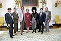 Nancy Reagan Photo Op. with Lab School Honorees.jpg