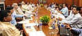 "Narendra Modi chairing a high-level meeting to assess the preparations towards ""Housing for All"", in New Delhi. The Union Minister for Urban Development, Housing and Urban Poverty Alleviation and Parliamentary Affairs.jpg"