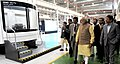 Narendra Modi visiting the Multimodal Manufacturing Project of GE, in Pune. The Governor of Maharashtra, Shri C. Vidyasagar Rao, the Chief Minister of Maharashtra, Shri Devendra Fadnavis.jpg