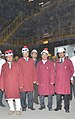 Narendra Singh Tomar at the new Plate Mill of Rourkela Steel Plant, in Rourkela on February 01, 2015 The Chairman, SAIL, Shri C.S. Verma and the Joint Secretary, Steel, Shri Sunil Barthwal are also seen.jpg